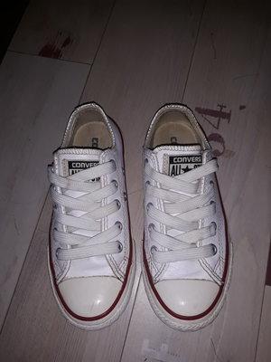 75b87e05046a Крутанские белые кожаные кеды Converse All Star оригинал 28-29 размер
