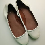 Модные брендовые мягкие балетки туфли next р.39 25 см