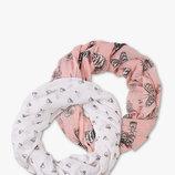 Новый набор 2 шарфа - снуда хомута фирмы C&A, Германия