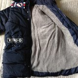 Куртки зима хаки черный синий 122-146 Glo Story
