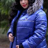 Женская куртка зимняя Лакшери, 38 по 82 размеры