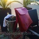 рюкзак трансформер кожаный , красивый винный цвет , кожаные рюкзаки