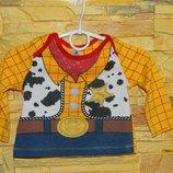 Детская кофточка желтая Disney Baby Sheriff на 6-9 месяцев