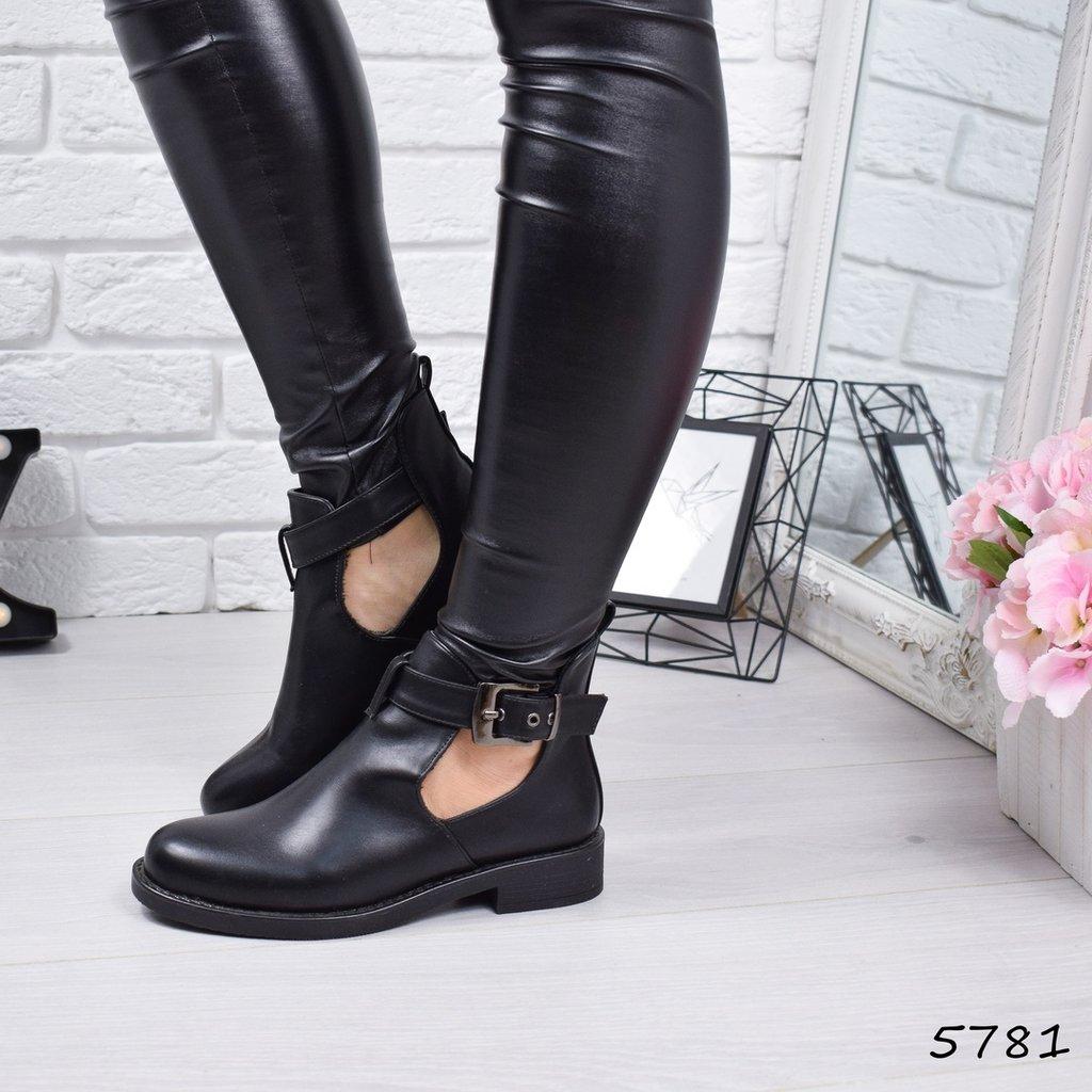aebf94ad9145 Продано: Ботинки женские Lorac черные Код 5781 Материал эко - кожа ...
