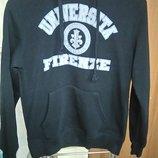 Модный молодежный свитер толстовка свитшот с капюшоном Unlimited р.S