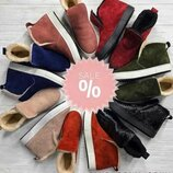 Универсальные натуральные кожаные женские ботинки слипоны 32,33,34,35,36,37,38,39,40,41