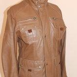 Шкіряні куртки Manguun