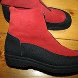 41 разм. Зима. Kandahar ботинки на овчине. Оригинал длина по внутренней стельке 27,5 см.,