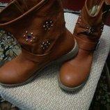 Стильные демисезонные ботинки, р-р 39