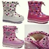 Зимние ботинки для девочки Том М