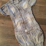 Джинсовое платье р 140-152