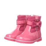 Ботинки для девочки Clibee 21, 22, 23, 24, 25, 26 р Малиновый H114 mal Демисезонные ботинки