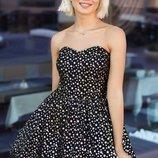 Коктейльное платье со звездами