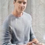 Мужской хлопковый пуловер джемпер тонкий свитер реглан Watsons Германия