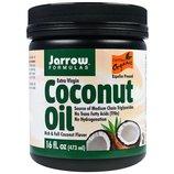 Jarrow Formulas, Органическое кокосовое масло Extra Virgin 473 г