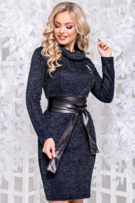 4bcc7596485 Женское стильное молодежное платье травка с поясом 44-50  600 грн ...