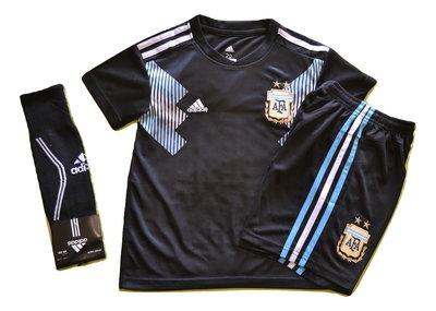 Детская футбольная форма Сборной Аргентины Месси гетры