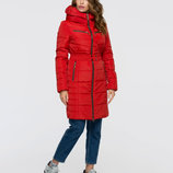 Куртка демисезонная приталенная 44-52р бежевая, красная, зеленая