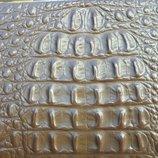 Винтажная кожаная сумка из аллигатора компании elbief england