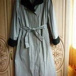 продам женское плащевое пальто
