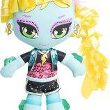 классная мягкая кукла Монстер Хай Лагуна Блю Lagoona Blue Monster High Mattel Сша оригинал 28 см