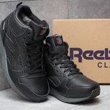 Ботинки мужские Reebok Classic, черные, р. 41 - 45