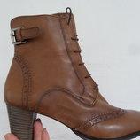 Ботинки Ecco натур кожа оригинал 41 размер-27см