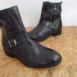 Ботинки кожаные 5-TH Avenue Германия размер 38-стелька-24,5 см