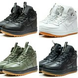 Кроссовки мужские Nike Air, зимние, код kv-30221