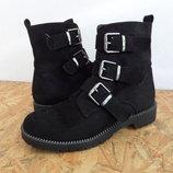 Демисезонные ботинки Graceland размер 38-длина стельки-24,5 см