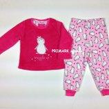 Пижама пушистый флис для девочки 1.5-7 лет Primark
