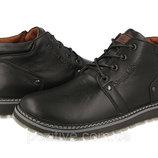 Кожаные мужские зимние ботинки Maxus