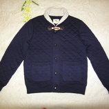 Шикарная теплая стеганая куртка бомбер Cedar Wood State р. 50 L