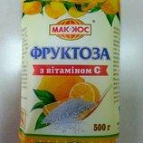 Фруктоза с витамином С, Тм Маккос, 500г