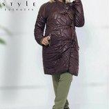 Стильное пальто на завязках, Размеры 42,44,46,48,50,52