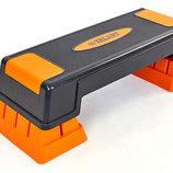 Степ платформа 6291 пластик, размер 70x28x22см TPR покрытие