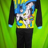 Пижама на мальчика микрофлис Бэтмен Disney р.5Т