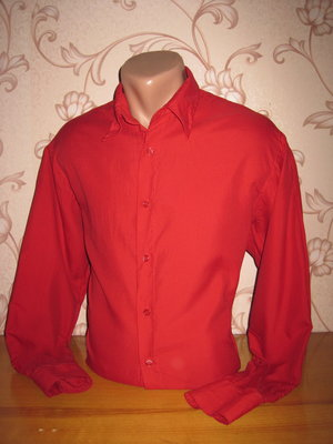 Рубашка мужская. Размер l см. замеры . Clockhouse. В хорошем состоянии