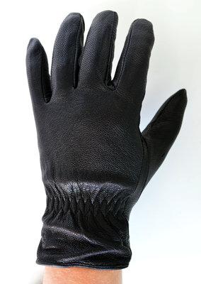 Мужские кожаные перчатки из оленьей кожи с шерстяной подкладкой