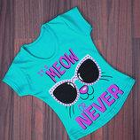 Замечательные футболки для девочки