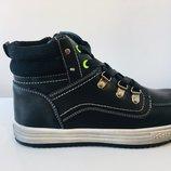 Демисезонные ботинки на мальчика Тм Сlibee