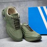 Кроссовки мужские Adidas Porsche Desighn, зеленые, р. 41 - 45