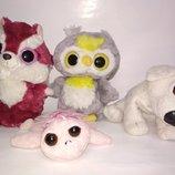 Цена за 4.Yoohoo Мягкая игрушка лемур собачка сова черепаха TY ту глазастик кукла Suki Tutu