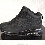 Зимние мужские кроссовки копия air max 41-46р черные