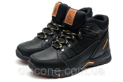 Мужские ботинки черного цвета