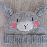 Теплая зимняя шапка на ребенка. Новая. Сток.