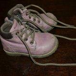 Ботинки 21 размер, демисезонные ботинки 21 размер, кожаные ботинки 21 размер, обувь для двора 21 р