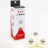 Набор мячей для настольного тенниса Nittaku 1400 шарики для настольного тенниса 3 мяча в комплект
