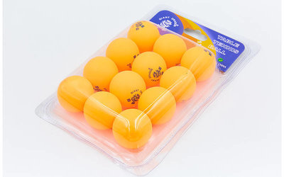 Набор мячей для настольного тенниса Giant Dragon 6558 шарики для настольного тенниса 12 мячей