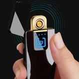 Подарочная сенсорная зажигалка USB / Подарункова запальничка USB